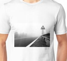 Attention to guardrail Unisex T-Shirt