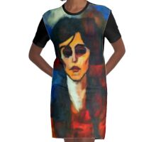 portrait of maude abrantese Graphic T-Shirt Dress