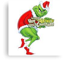 Dr. seuss' THE GRINCH - HOW STOLE CHRISTMAS Canvas Print