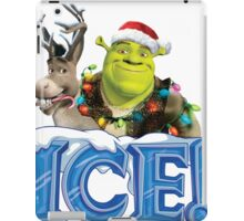 ICE ! MONSTERS - HAPPY CHRISTMAS iPad Case/Skin