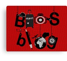 Bios Blog Poster Canvas Print