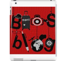 Bios Blog Poster iPad Case/Skin