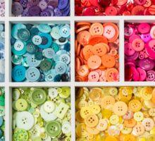 Bright buttons... Sticker