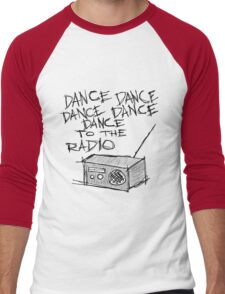 Dance to the radio Men's Baseball ¾ T-Shirt