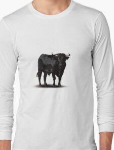 Spanish black bull  Long Sleeve T-Shirt