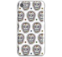 sugar skull hero iPhone Case/Skin