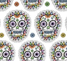 sugar skull hero Sticker
