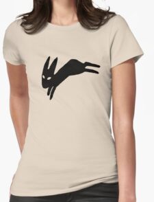 Black Rabbit Womens Fitted T-Shirt