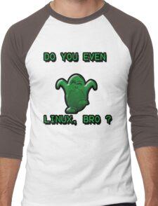 LINUX BRO Men's Baseball ¾ T-Shirt