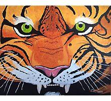 Tiger Snarl Photographic Print