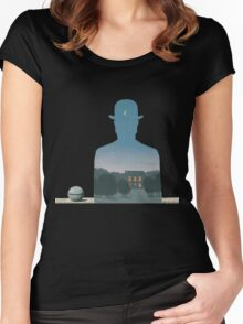 Magritte - Nature Mystery Women's Fitted Scoop T-Shirt