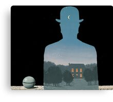 Magritte - Nature Mystery Canvas Print