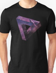 Impossible Triangle - SPACE Unisex T-Shirt