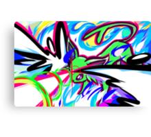 Shiny Espeon | Psybeam Canvas Print