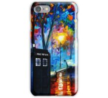 Tardis Romantic Night iPhone Case/Skin