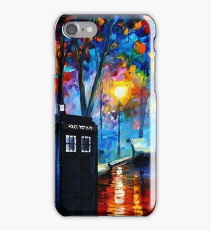 Tardis Romantic Night iPhone Case/Skin