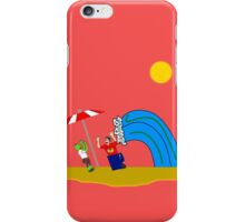 Not Your Average Beach Day! iPhone Case/Skin