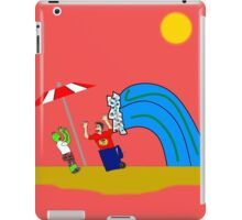 Not Your Average Beach Day! iPad Case/Skin
