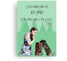 Dorothy and Toto's Place Canvas Print