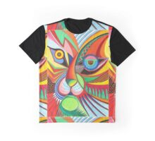 Tiger Abstract  Graphic T-Shirt