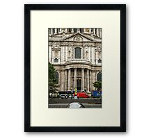 South Side Facade of Saint Paul's Cathedral Framed Print