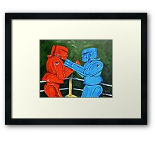 The Twelfth Round  Framed Print