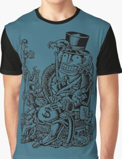 Measuring Success of Wealthy Man Graphic T-Shirt