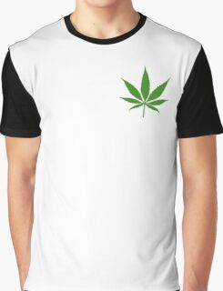 Weed Symbol  Graphic T-Shirt