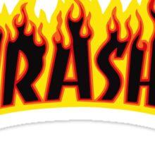 Flame Logo Sticker