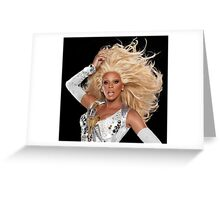 Ru Paul Greeting Card