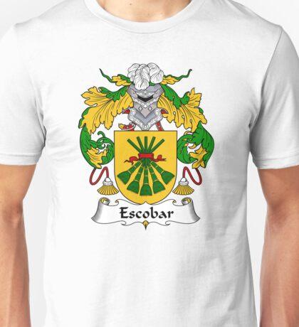 Escobar Coat of Arms/ Escobar Family Crest Unisex T-Shirt