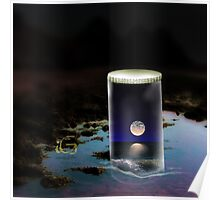 Moon in a jar Poster