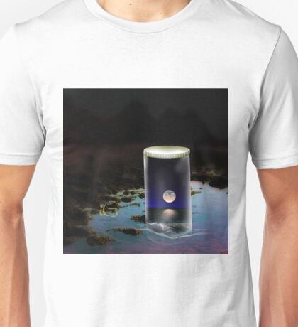 Moon in a jar Unisex T-Shirt