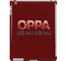 Oppa 오빠 Korean-Inspired iPad Case/Skin