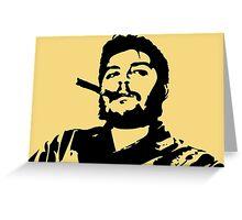 Vintage Man Smoking A Cigar Greeting Card