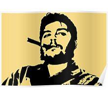 Vintage Man Smoking A Cigar Poster