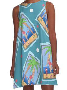 Beach Girl A-Line Dress
