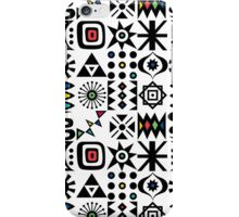 Flash Forward white iPhone Case/Skin