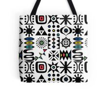 Flash Forward white Tote Bag