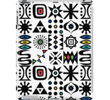 Flash Forward white iPad Case/Skin