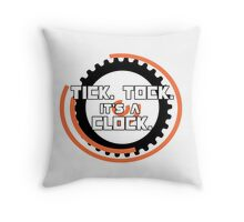 Catching Fire Hunger Games Clock Throw Pillow