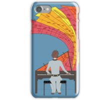 The joy of piano playing iPhone Case/Skin