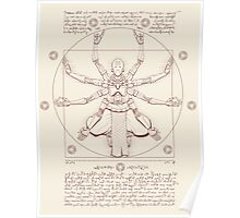 Vitruvian Omnic Poster