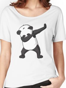 -DAB- Panda DAB Women's Relaxed Fit T-Shirt
