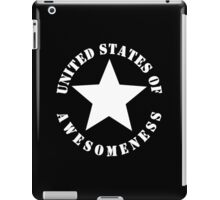 United States of Awesomeness iPad Case/Skin