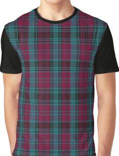 01550 Alma College Tartan Graphic T-Shirt