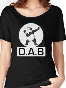 -DAB- Panda DAB Women's Relaxed Fit T-Shirt