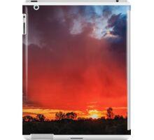 Fiery Sky, Menzies WA Australia iPad Case/Skin