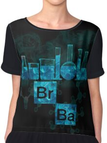 Respect the Chemistry Chiffon Top