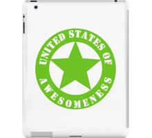 United States of Awesomeness GL iPad Case/Skin
